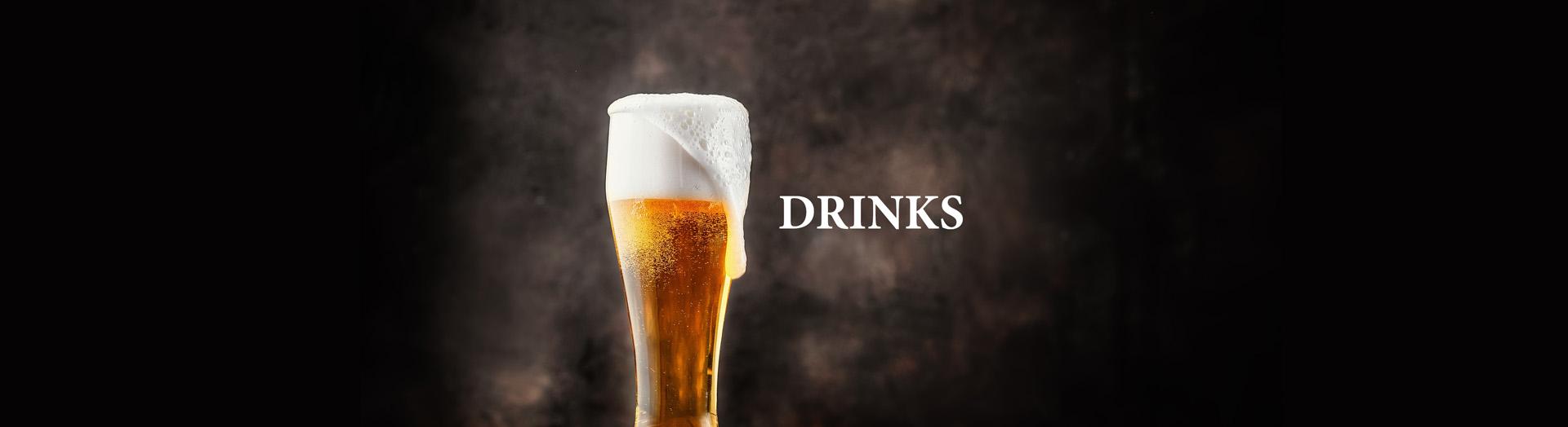 Duke of Normandie Hotel Guernsey Drinks Header